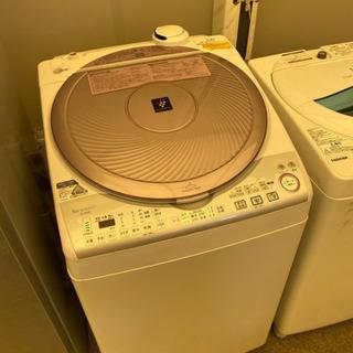 HS100⭐️説明文必読‼️SHARP 8kg電気洗濯乾燥機