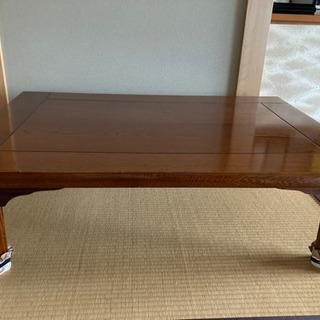 脚折りたたみ式木製テーブル
