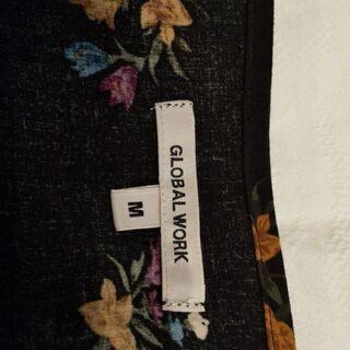 グローバルワーク花柄七分袖
