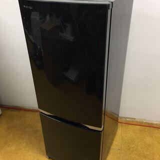 東芝 ノンフロン冷凍冷蔵庫 GR-M15BS 2ドア 右開き黒 ...