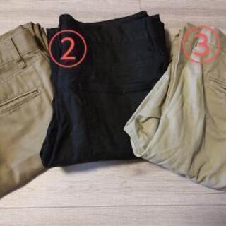 メンズ 服 ボトムス パンツ ズボン 3点 セット まとめて