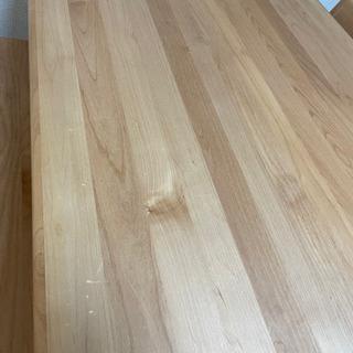 【ネット決済】天然木 ダイニングテーブル