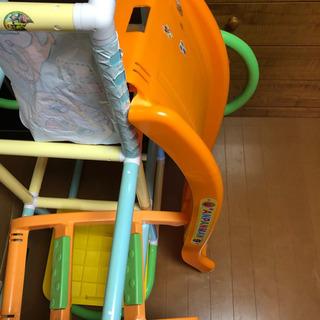 【ネット決済】アンパンマン ジャングルジム 滑り台