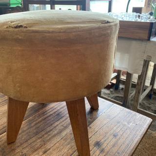 【ネット決済】ラウンドスツール 椅子