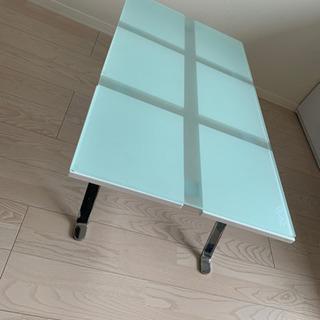 【ネット決済】ローテーブル   ガラス