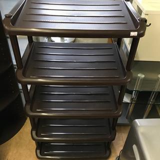 シューズボックス 靴箱 靴置き シューズラック 5段収納