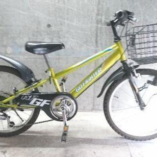 自転車中古 GO FIGHTER 小学生低学年用 外装6段変速 ...