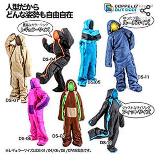 【ネット決済】※新品未使用   人型寝袋 キャンプ