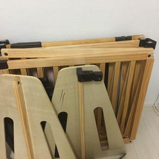 日本育児 木製パーテーション FLEX300-W(ナチュラル)