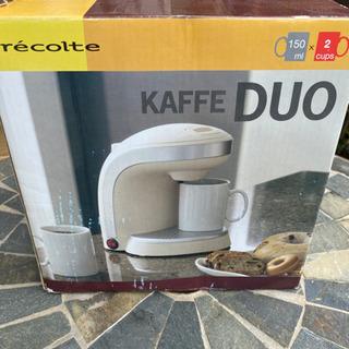 新品未使用 レコルト recolte KAFFE DUO コーヒ...