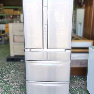 日立 6ドア 大型 冷凍冷蔵庫 R-SF62ZM 真空チルド 6...