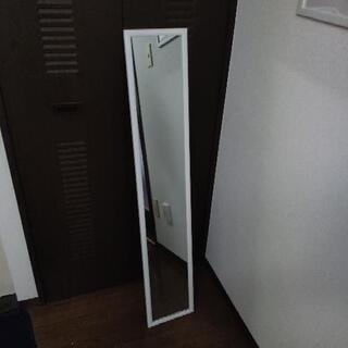 姿鏡 鏡 白 ホワイト