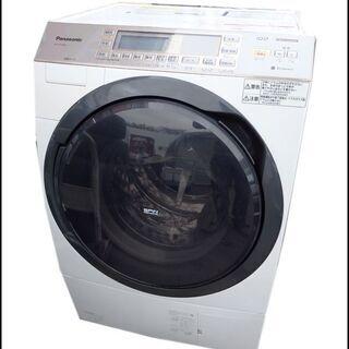 動作品/パナソニック◆ドラム式洗濯乾燥機/NA-VX7300L◆...