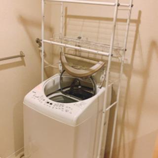 洗濯機ラック 白