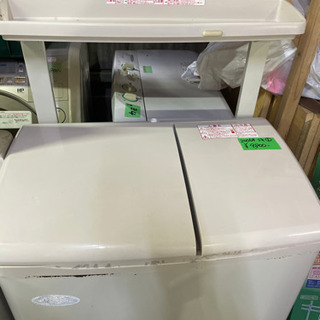 【ネット決済】二層式洗濯機