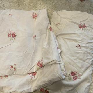 ローラアシュレイ 布団カバー ボックスシーツ 枕カバー2枚