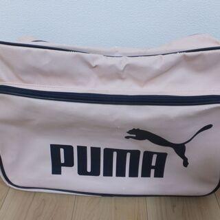 PUMA スポーツバッグLサイズ(ピンク色)