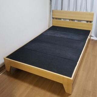 ベッドフレーム セミダブルサイズ