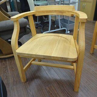 札幌 引き取り 木製チェア  椅子ダイニング  肘付き 北欧風 ...