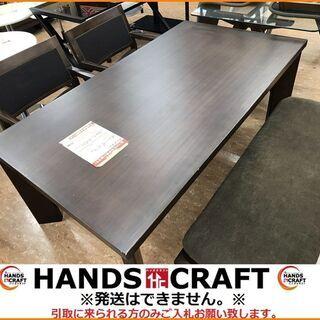 【引取限定】マルイ木工 ダイニングテーブル イス2脚 ベン...