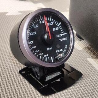 追加メーター(電気式ブースト計)