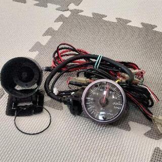 【取引済】追加メーター(電気式ブースト計) - 車のパーツ