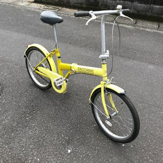 冷やかしはおやめください【目玉商品】20インチ・折りたたみ自転車...