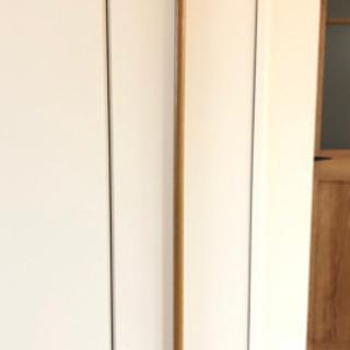 【差し上げます】突っ張り棒(木目調)  170cm〜172cm
