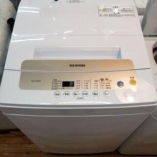 アイリスオーヤマ 2019年製 5、0kg 全自動洗濯機 …