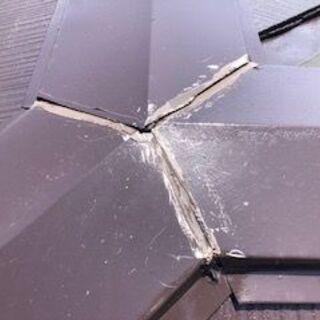 雨漏り修理(破損、損傷場所だけでもポイント修理を・・・・)