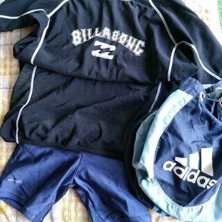 水着 ウェット パンツ スイミングバッグ 水泳 パンツ140 B...