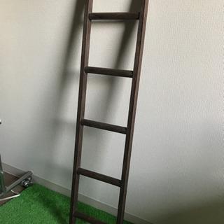 木製のはしご