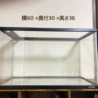 【中古】KOTOBUKI  アクア水槽  60×30×36