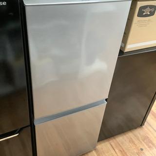 2ドア冷蔵庫 AQUA 2018年製 126L