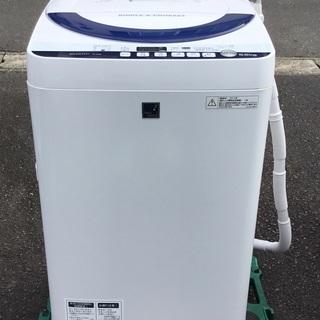 <美品>SHARP・全自動洗濯機(5.5kg)  ES-G…