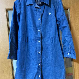 ポロ 150 デニム シャツワンピ ロングシャツ
