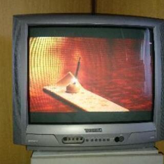 無料¥0)東芝ブラウン管テレビ2台 21型と25型
