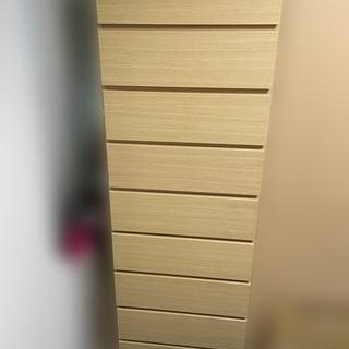 【無料】ニトリのアーデルチェスト ライトブラウン 60cm