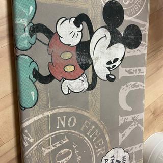 ミッキーマウス 大きい座布団