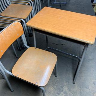 KOKUYO 学習机 椅子と机のセット チェア デスク 菊TK①