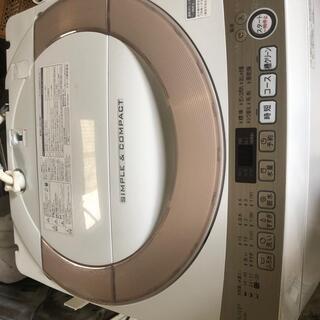 🟢  SHARP洗濯機 7.0Kg