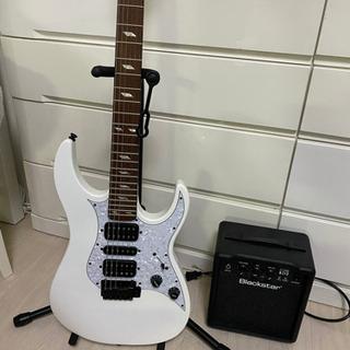 ギター、アンプ、ほぼ未使用