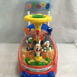 手押し車 ベビー 乗り物 ディズニー ミッキーマウス 乗用玩具