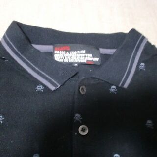 ビームス 黒のポロシャツ - 服/ファッション