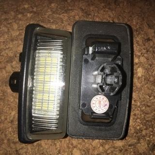 【ネット決済・配送可】12ボルト用 ナンバー灯LED