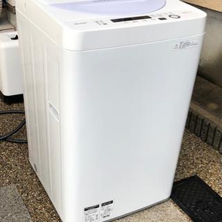 SHARP   洗濯機  2017年製