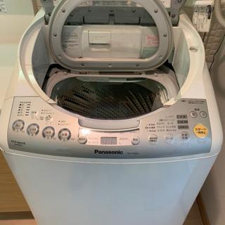 【再】Panasonic 電気洗濯乾燥機 8kg