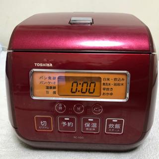 炊飯器 TOSHIBA RC-5SG
