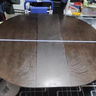 ナフコ購入伸長伸縮式ダイニングテーブル4人~6人がけ