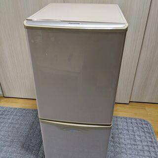【無料】Panasonic ノンフロン冷凍冷蔵庫 NR-B142...